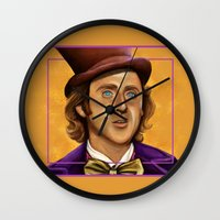 The Wilder Wonka Wall Clock