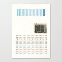 Super/computer Canvas Print