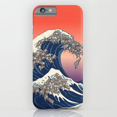 The Great Wave of Sloth iPhone 6 Slim Case