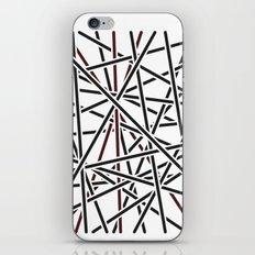 Obliquity 1 iPhone & iPod Skin