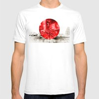 Land Of The Rising Sun Mens Fitted Tee White SMALL