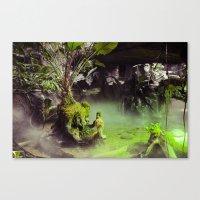 Fog // Moss. Canvas Print
