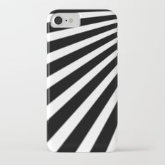 Black and White Stripes iPhone 7 Slim Case