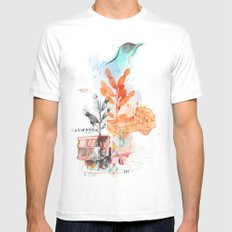 Transport 2 Mens Fitted Tee White SMALL