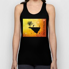 Putt Plastic In Its Place Unisex Tank Top