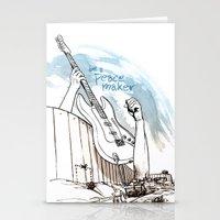 Peace Maker Stationery Cards