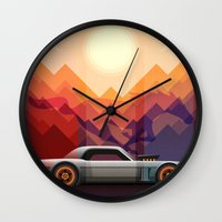 Into the Sun, Ford Mustang 65 KB Wall Clock