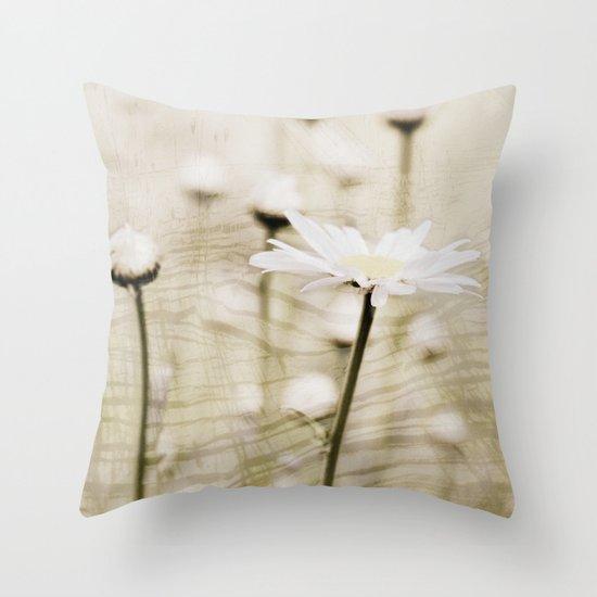 Daisy Fields 4eva Throw Pillow