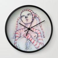 The Bunny rabbit Wall Clock