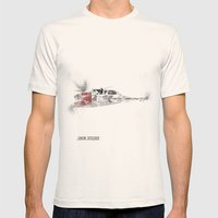 Star Wars Vehicle Snow Speeder Mens Fitted Tee Natural SMALL