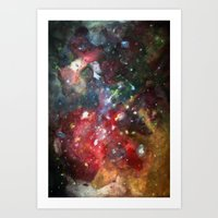 this is where we live Art Print