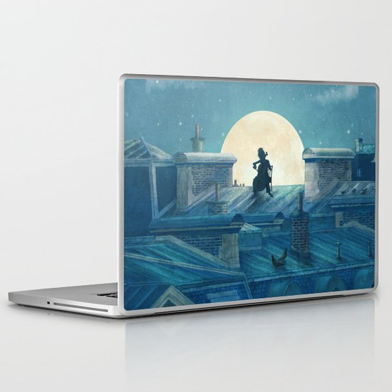 Rooftoppers Laptop & iPad Skin