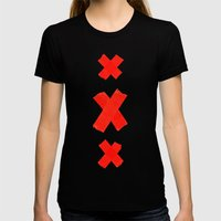 xXx Womens Fitted Tee Black SMALL