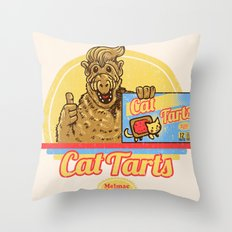 Cat Tarts Throw Pillow