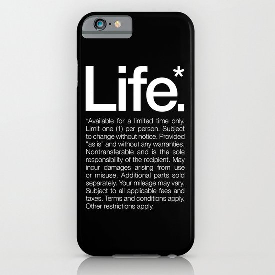 Life.* Available for a limited time only. iPhone & iPod Case