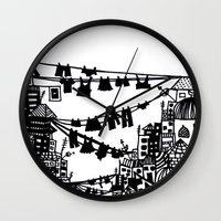 Home = Organised Chaos Wall Clock