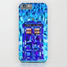 Phone booth Tardis doctor who cubic art iPhone 4 4s 5 5c 6, pillow case, mugs and tshirt iPhone 6 Slim Case