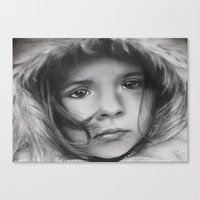 The Homeless Child Canvas Print