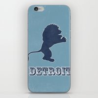 Original Detroit Lions Logo iPhone & iPod Skin