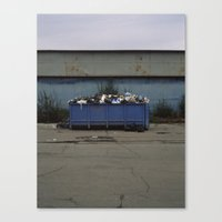 Waste Canvas Print