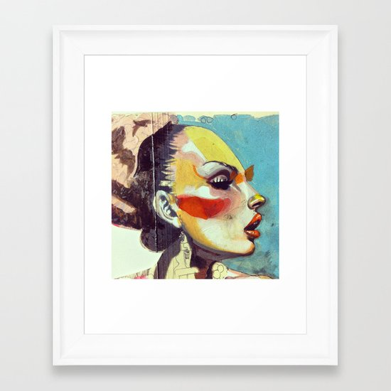 oilwip Framed Art Print