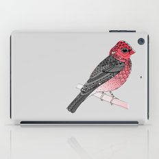 Scarlet Rosefinch iPad Case