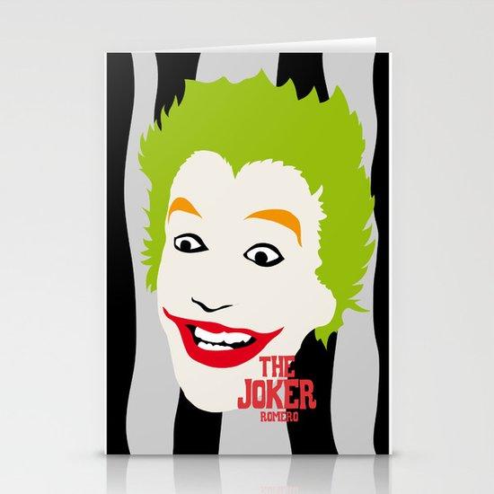 JOKER BLACK&GREY Stationery Card