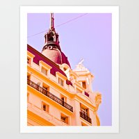 Architectural City. Art Print