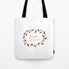 Hello October! Tote Bag
