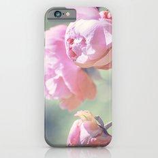 Pink Peony 2 Slim Case iPhone 6s