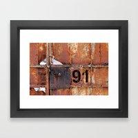 Rusty91 Framed Art Print