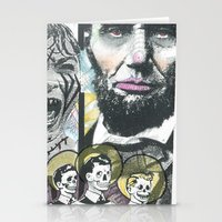 Psycho Lincoln Stationery Cards