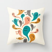 Dead Man's Party Throw Pillow