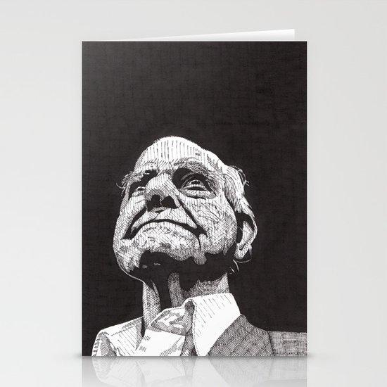 Homeless man5 Stationery Card