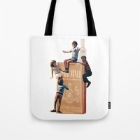 The Cigarette Gang Tote Bag