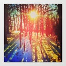 Take The Prismatic Path (002) Canvas Print