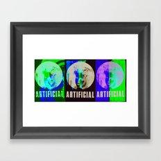 Artificial Framed Art Print