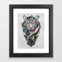 Killing Beauty Framed Art Print