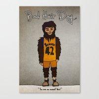 bad hair day no:2 / Teen Wolf Canvas Print