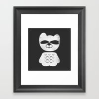 Boo Framed Art Print