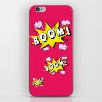 Comics iPhone & iPod Skin