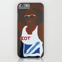 iPhone & iPod Case featuring Mo-Bot by Salmanorguk