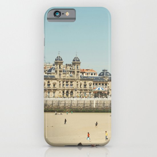 The City Hall and The Beach iPhone & iPod Case