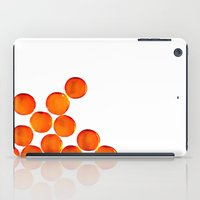 Crystal Balls Orange iPad Case