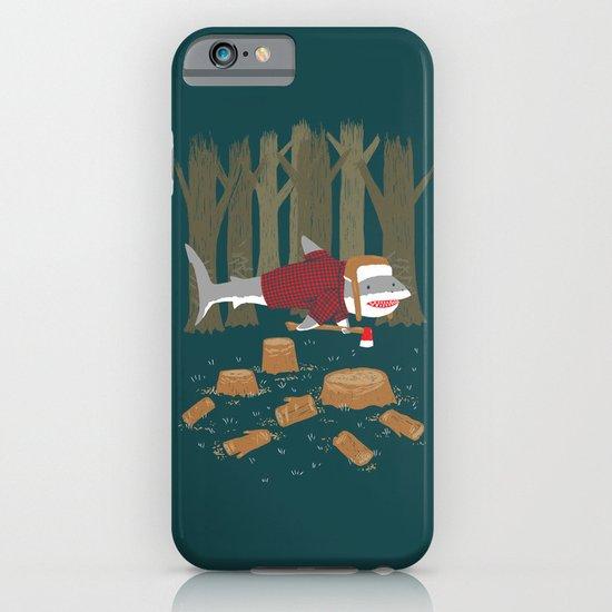LumberJack Shark iPhone & iPod Case