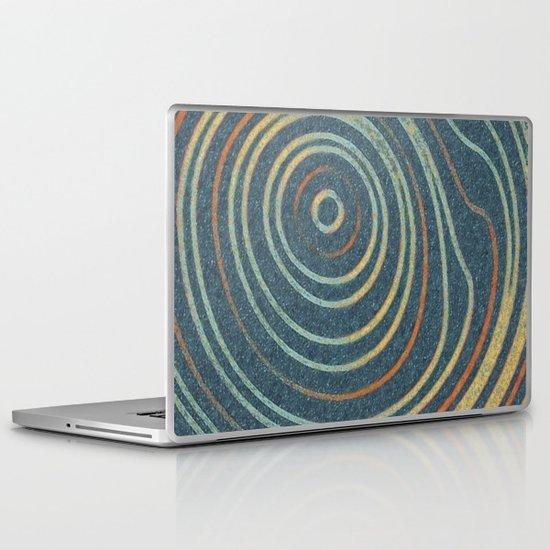 Curved Stripes Laptop & iPad Skin