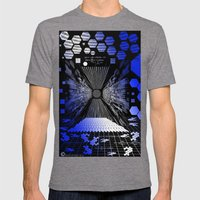 Digitize Mens Fitted Tee Tri-Grey SMALL