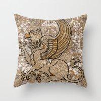 GRIFFIN Throw Pillow