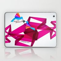 Paper Birds Laptop & iPad Skin