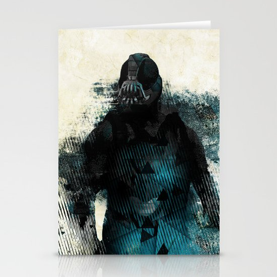 Abstract BANE Stationery Card